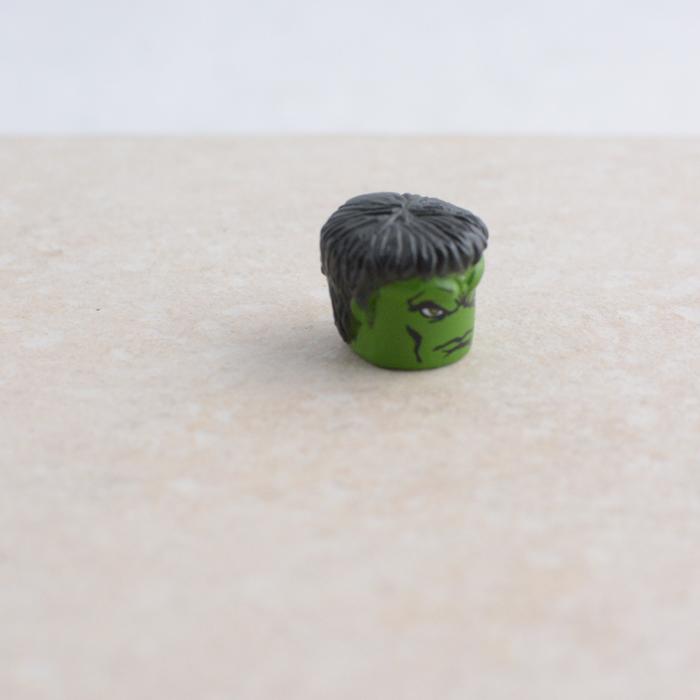 Green Interesting Shaped Head