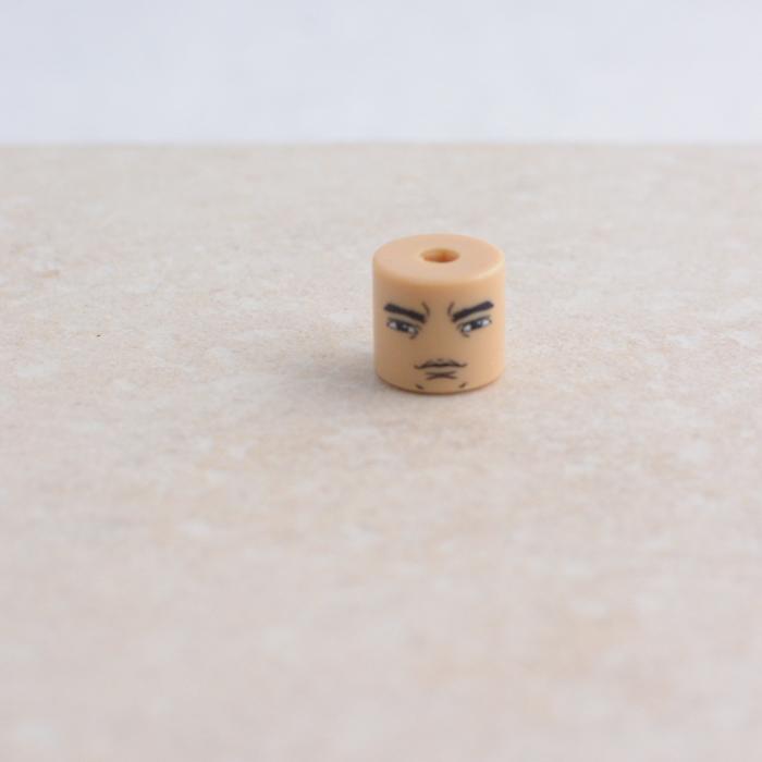 Concerned Eyebrows Head