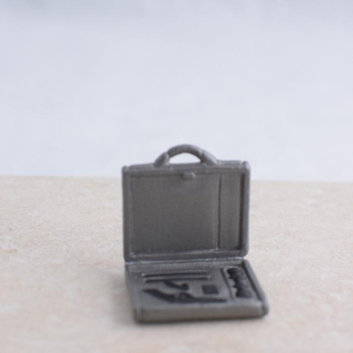 Silver Gun Briefcase
