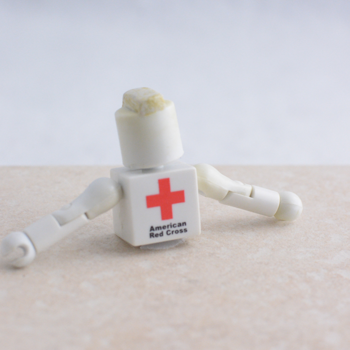 American Red Cross Torso with Head and Arms and... Mohawk?