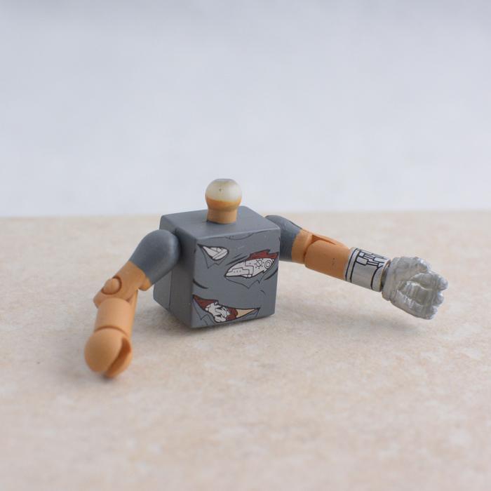 Robot with Human Skin Torso and Hand