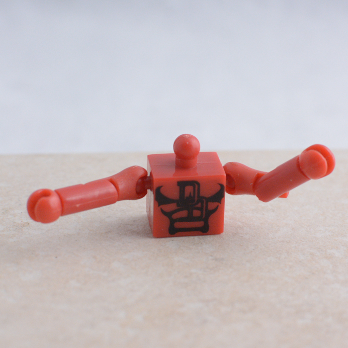 Daredevil Torso, Arms and Hands