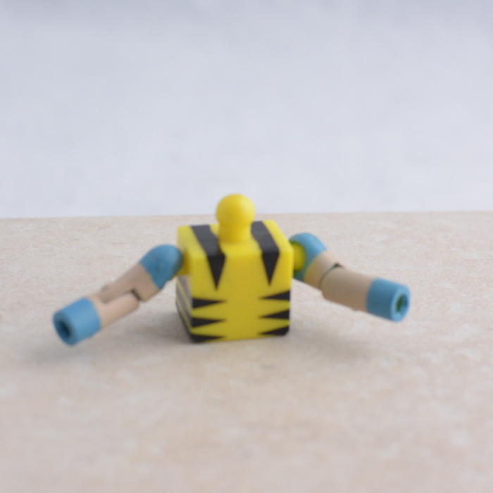 Yellow Torso with Blue Accented Arms