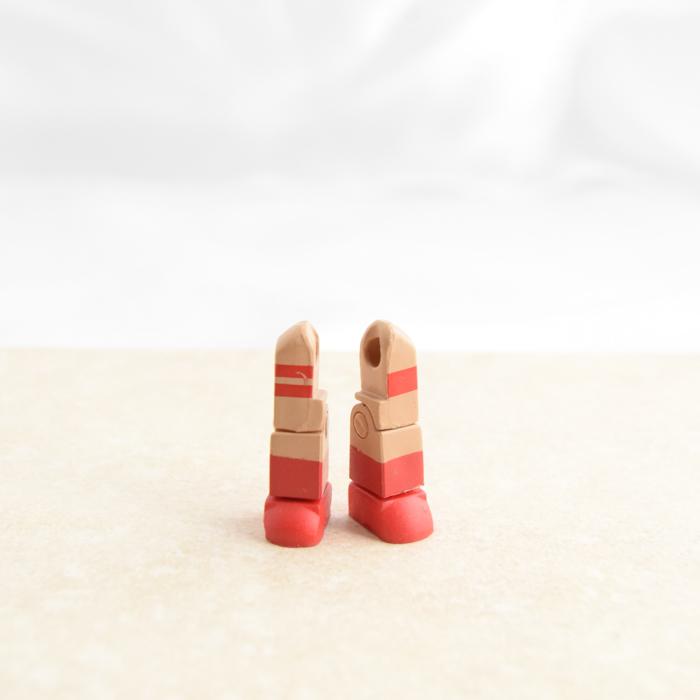 Red Stripey Legs