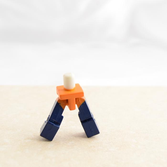 Orange and Blue Legs