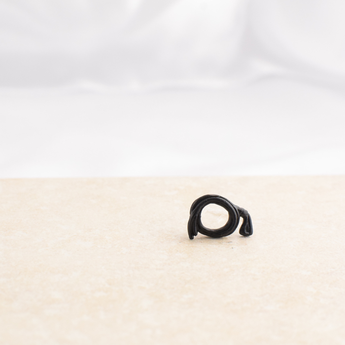 Black Coiled Whip