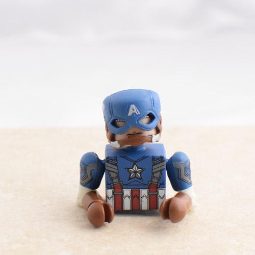 Captain America Head, Helmet, Torso, Arms and Hands
