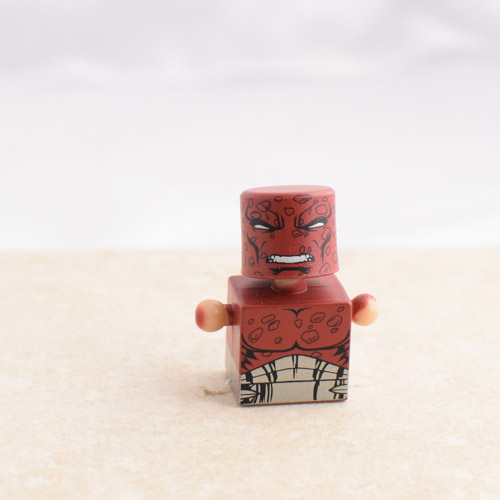 Red and Grey Torso with Red Bubbly Head