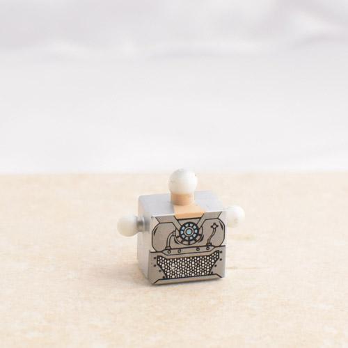 Silver Fancy Torso