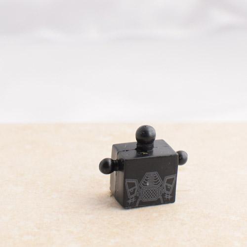 Black Torso with Grey Bits