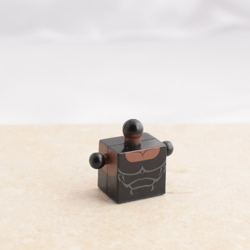Black Tank Top Torso
