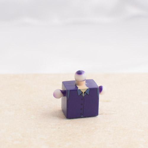 Purple Torso with Collar