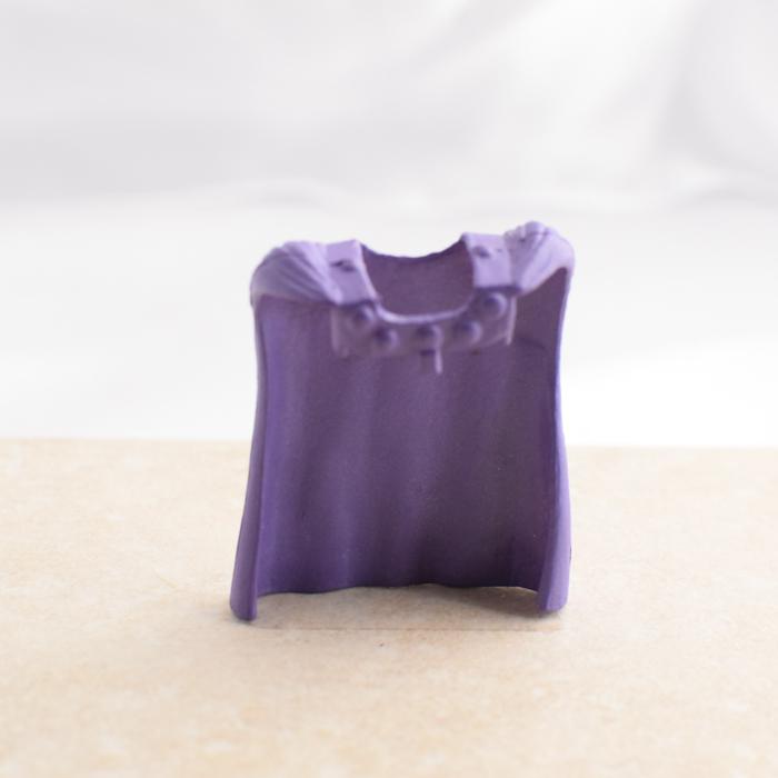 Purple Spiky Cape