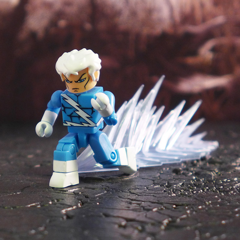 Frosted Blue Blastwave Effects Set of 8