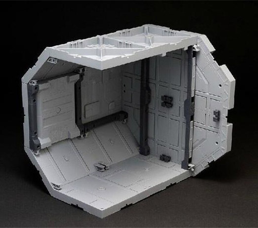 Space Station Corridor