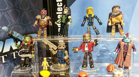 Guardians of the Galaxy 2 Minimates
