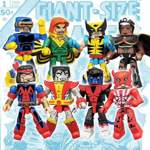 Marvel Minimates Series 68 Giant Size X-Men