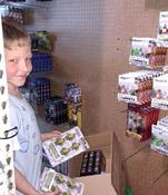 Luke's Toy Store Inventory