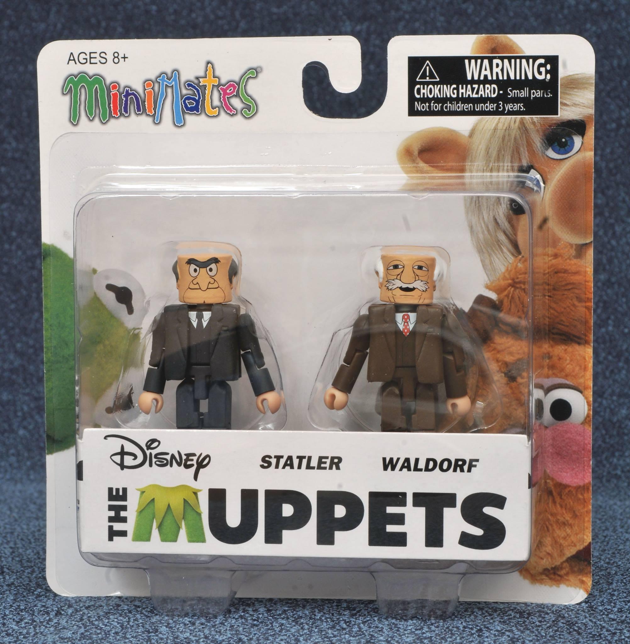 Statler & Waldorf Muppets Minimates Series 2