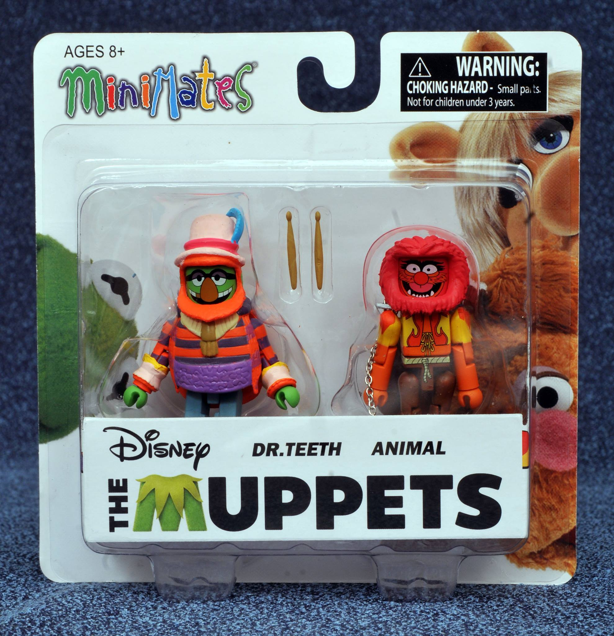 Dr. Teeth & Animal Muppets Minimates Series 2