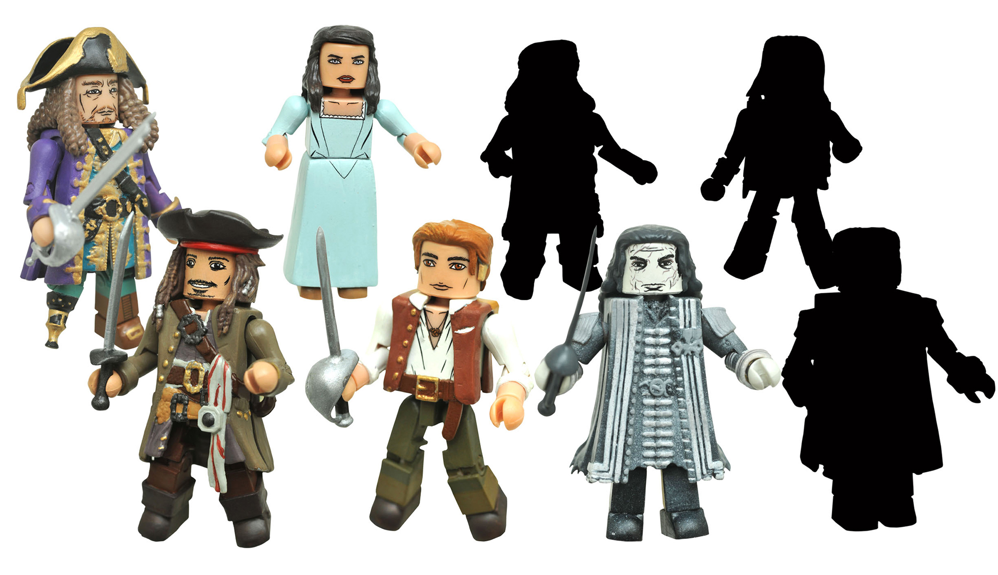 Pirates of the Caribbean: Dead Men Tell No Tales Minimates Full Custom Case of 12