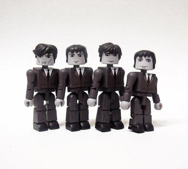 The Beatles Custom Minimates
