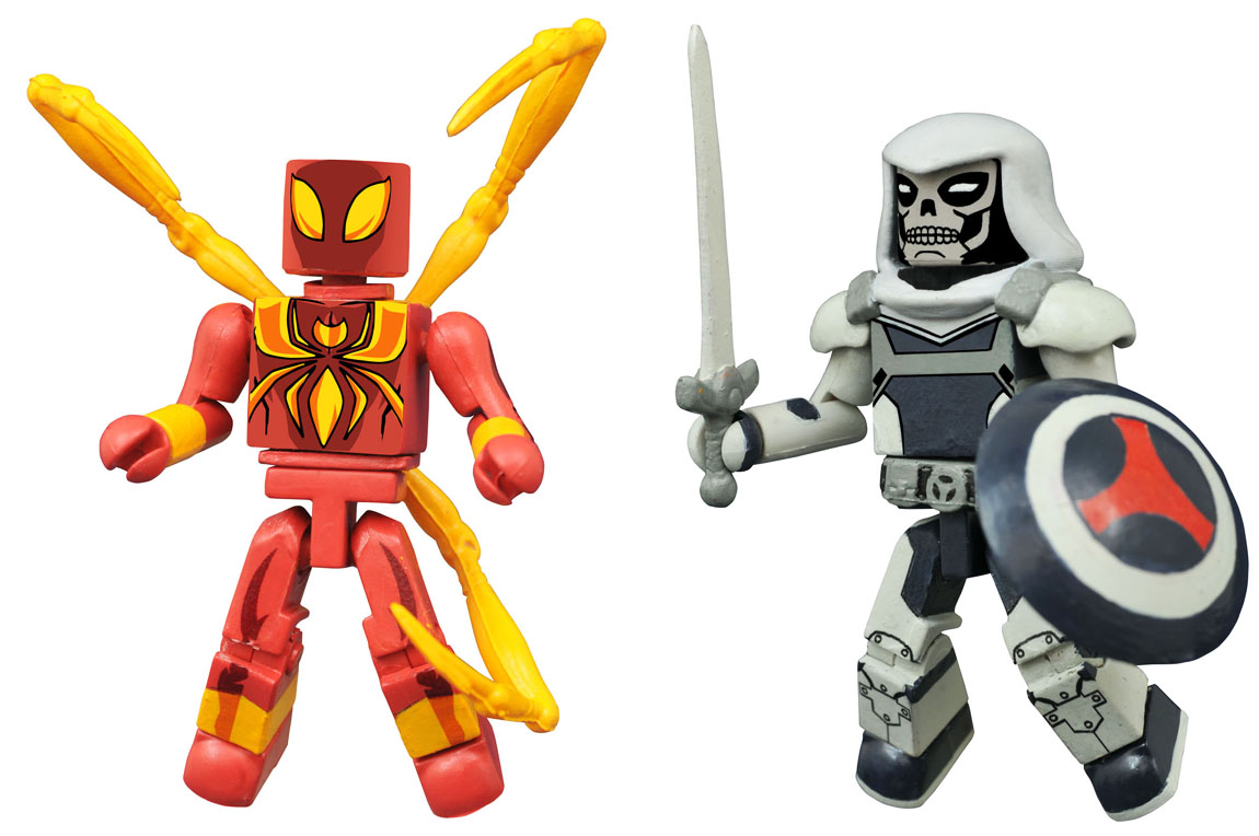 Iron Spider-Man & Taskmaster Walgreen's Exclusive Minimates
