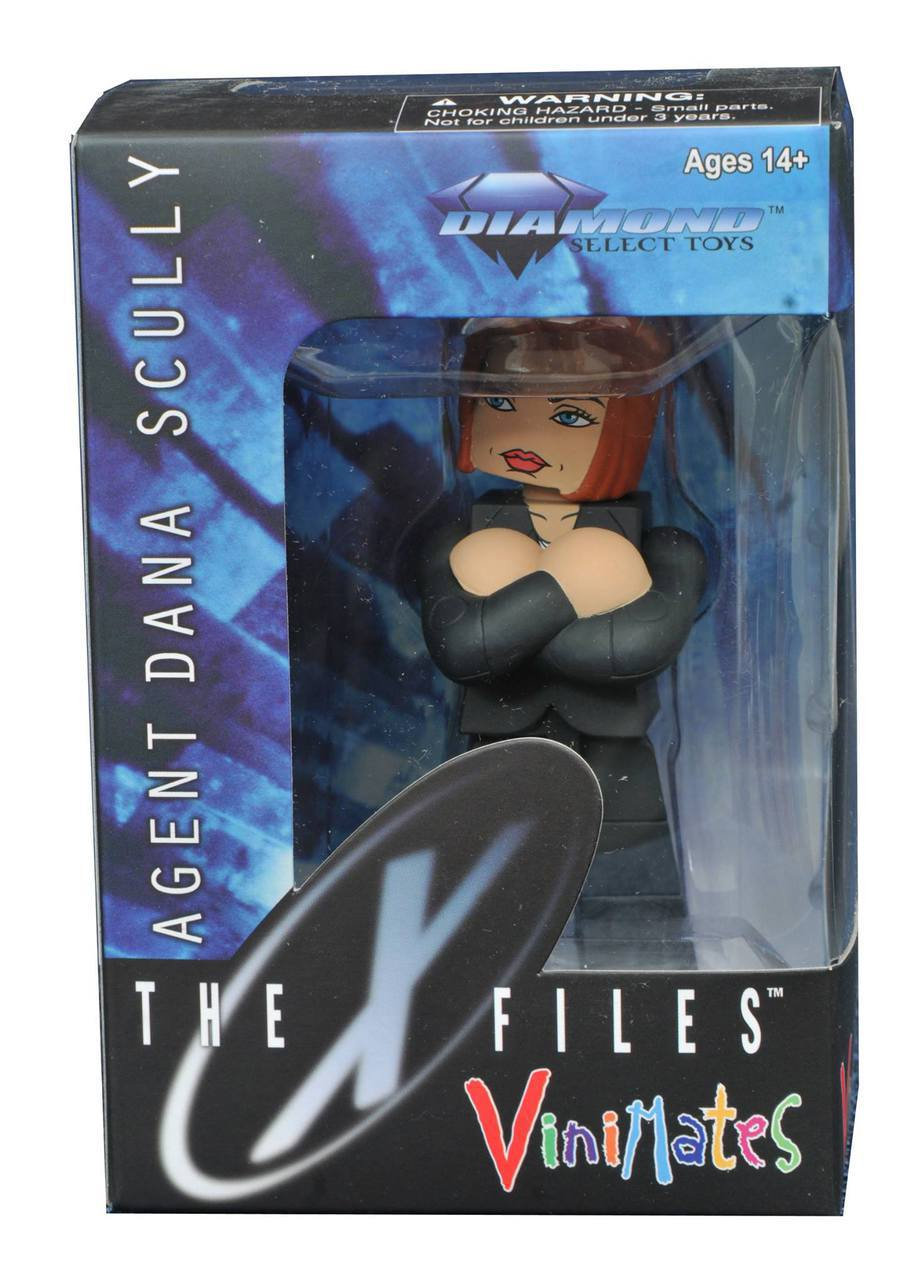 X-Files Dana Scully Vinimate Vinyl Figure