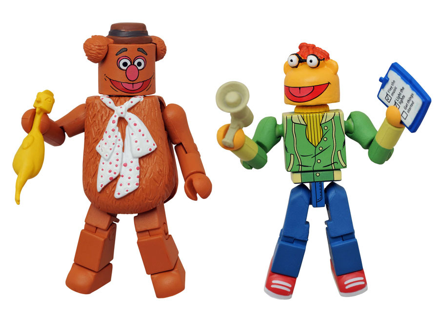 Fozzie & Scooter Muppets Minimates