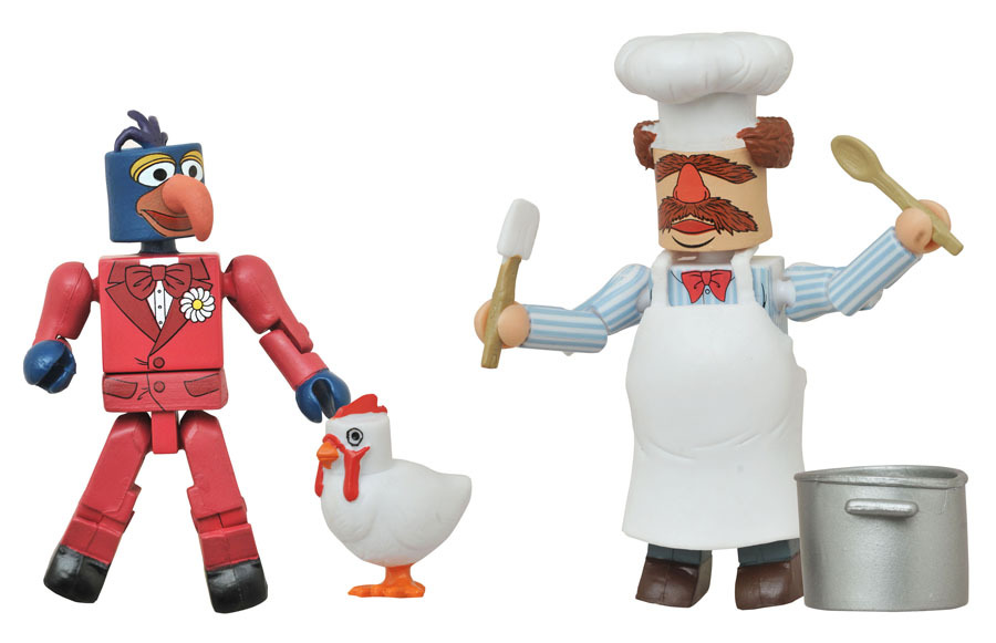 Gonzo & Swedish Chef Muppets Minimates