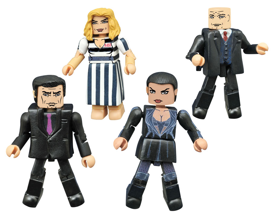 Gotham Minimates Series 3 Rise of the Villains Box Set