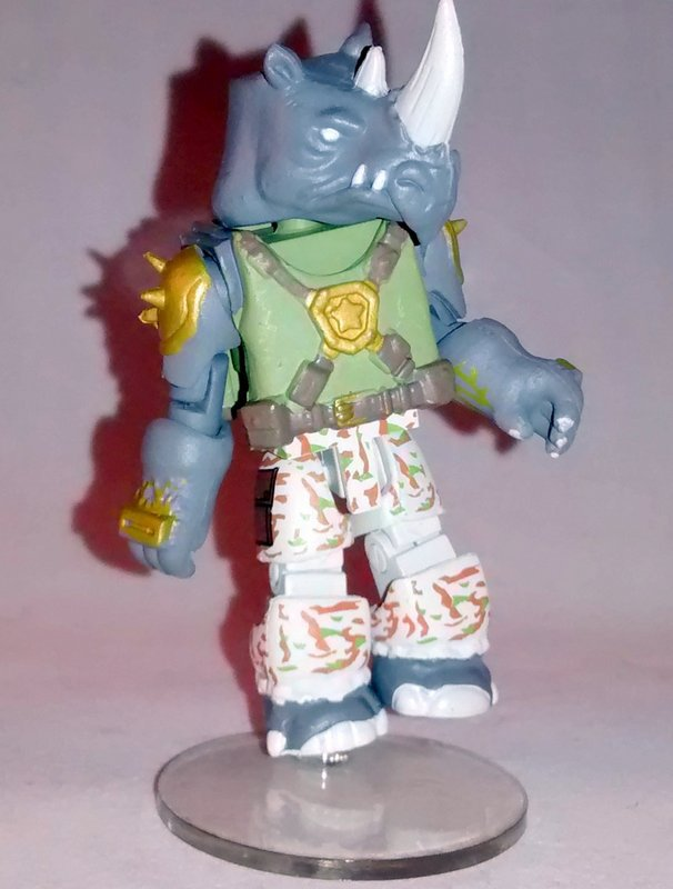 Rocksteady TMNT Series 3 Minimate