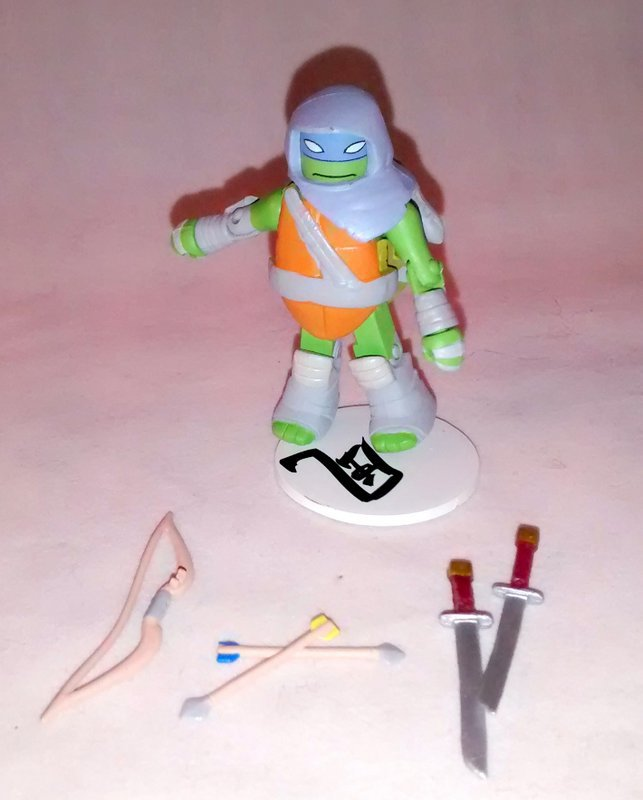 Vision Quest Leonardo TMNT Series 3 Minimate
