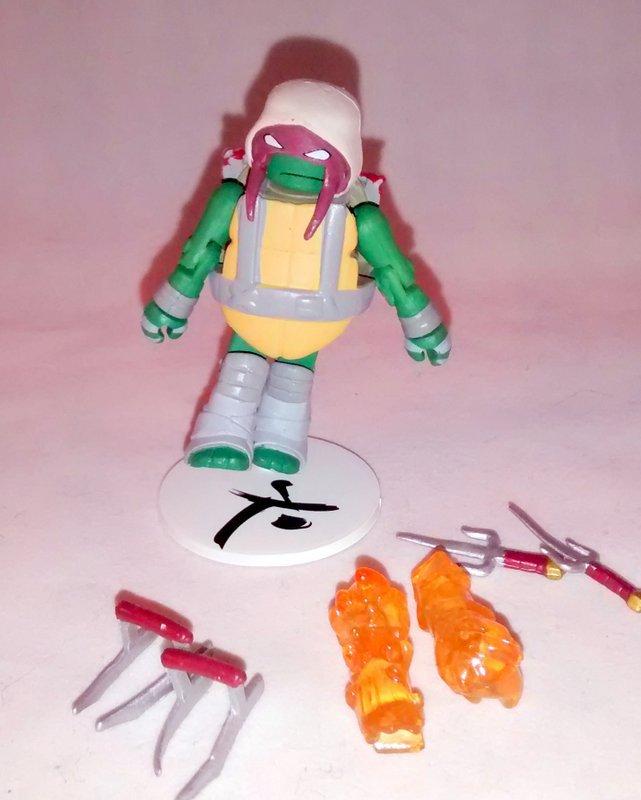 Vision Quest Raphael TMNT Series 3 Minimate