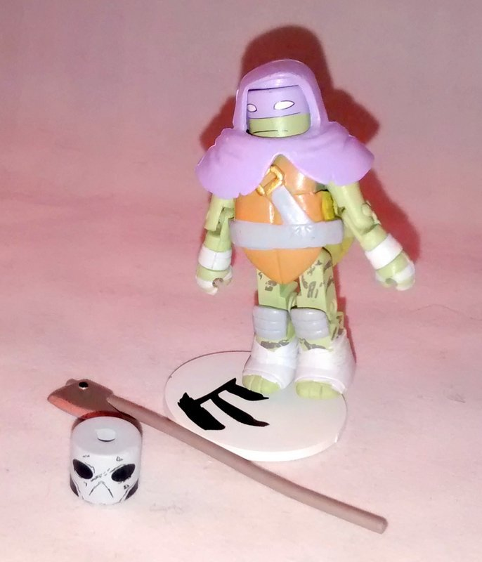 Vision Quest Donatello TMNT Series 3 Minimate