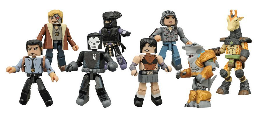 Indy Minimates Series 1 Full Set of 8