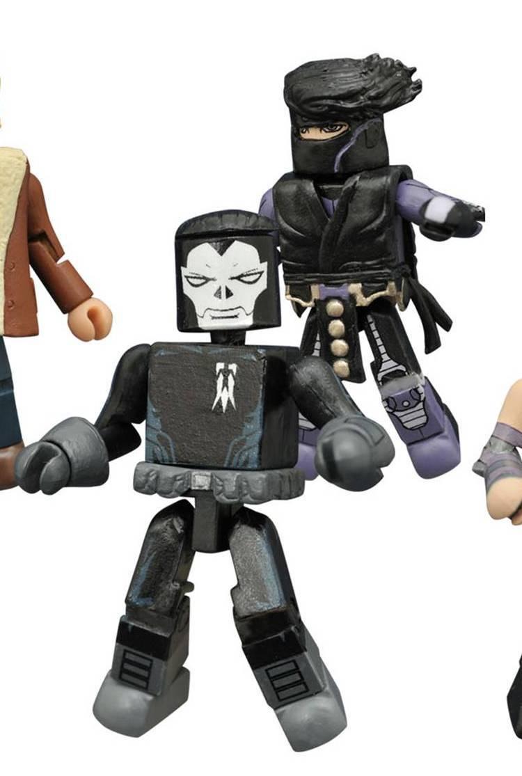 Ninjak & Shadowman (Valiant) Indy Minimates