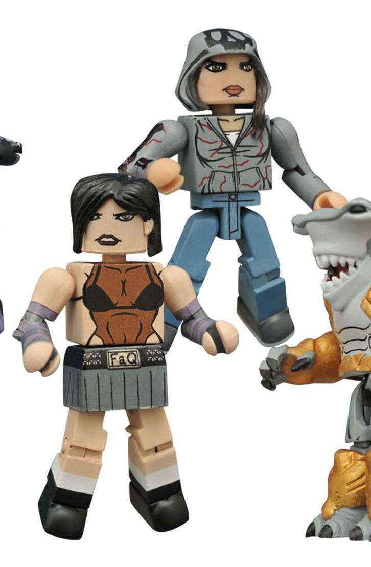 Cassie Hack (Hack/Slash) & Em Cypress (Revival) Indy Minimates