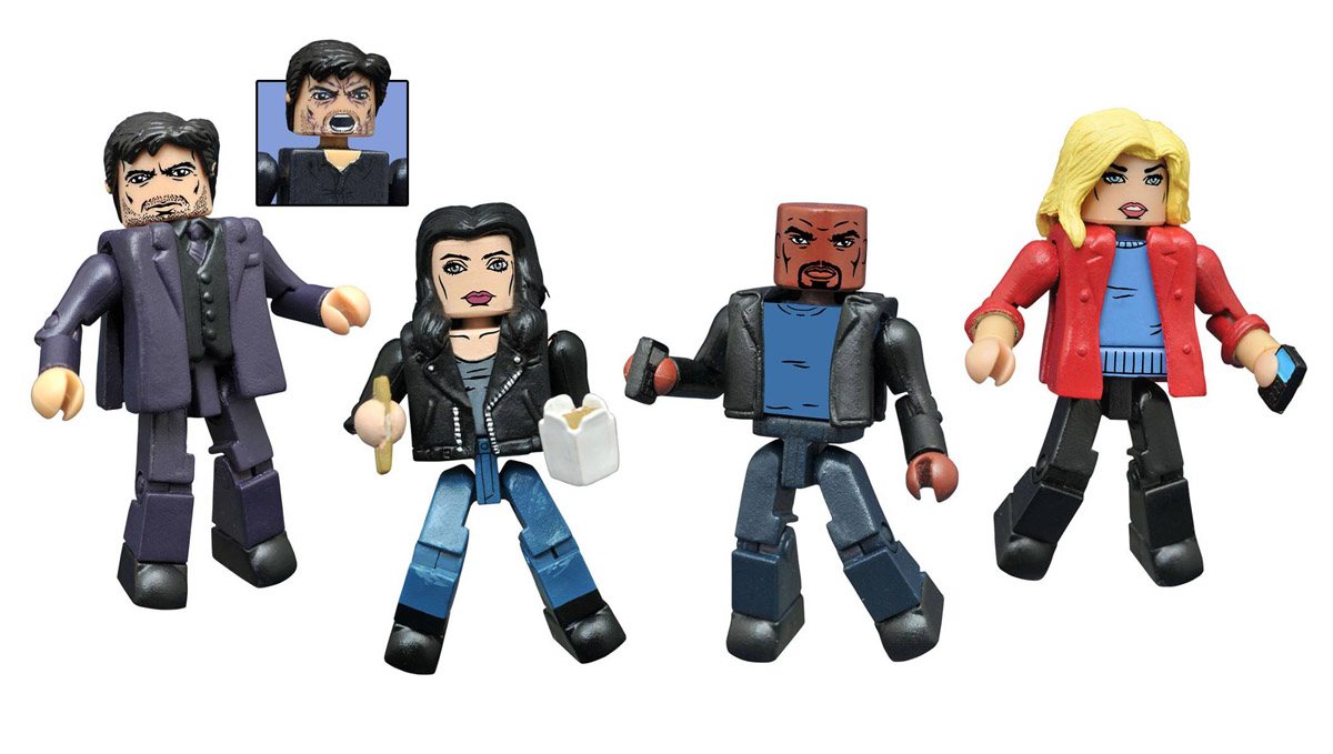 Jessica Jones Netflix Minimates Series 1 Box Set