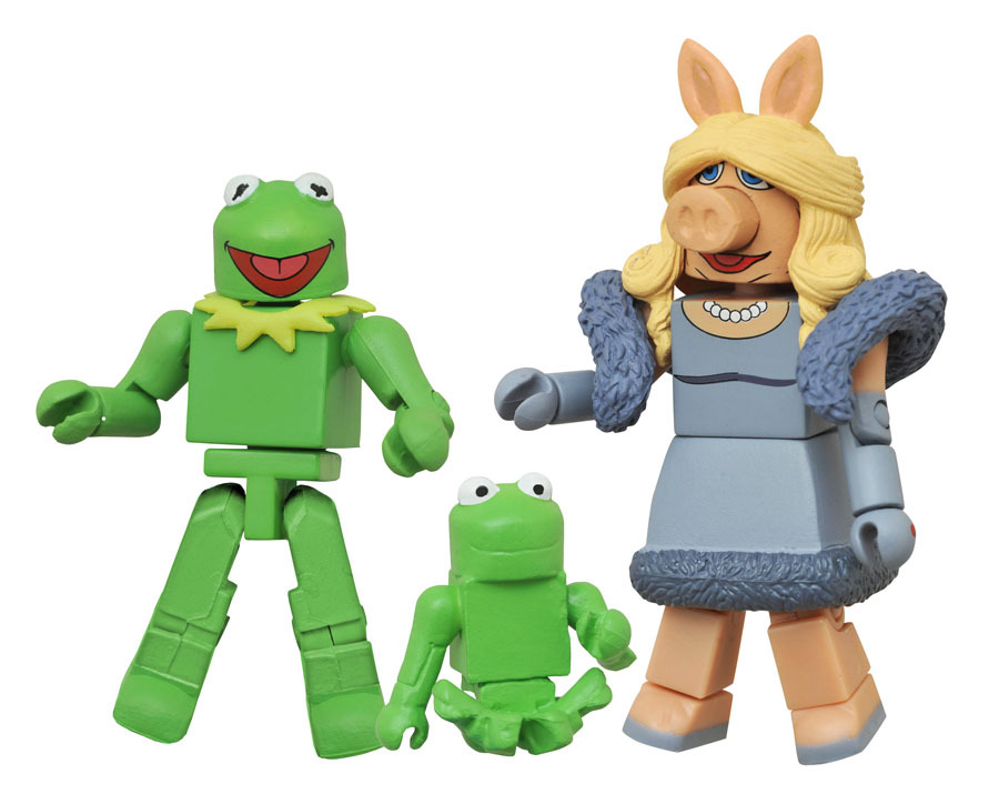 Kermit with Miss Piggy Muppets Minimates