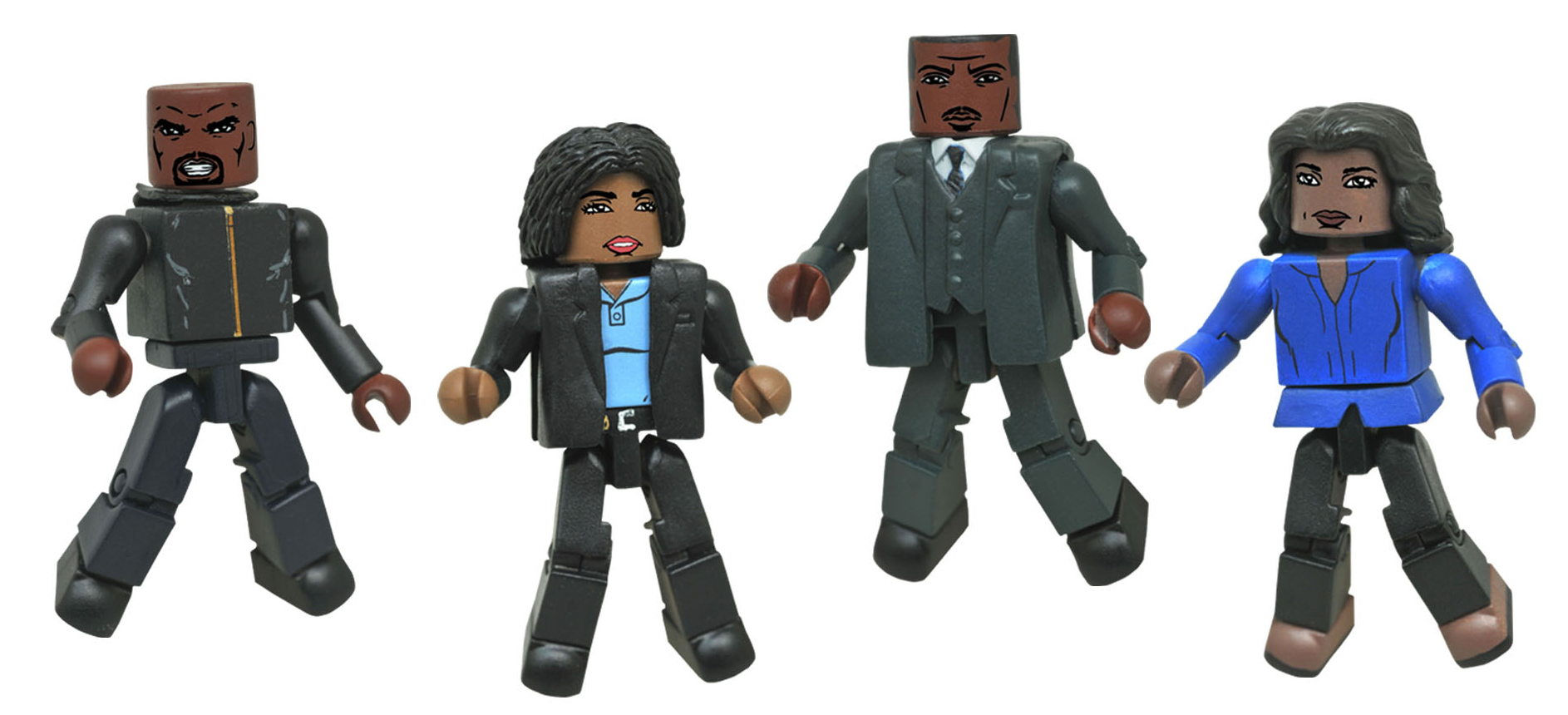Luke Cage Netflix Minimates Series 1 Box Set