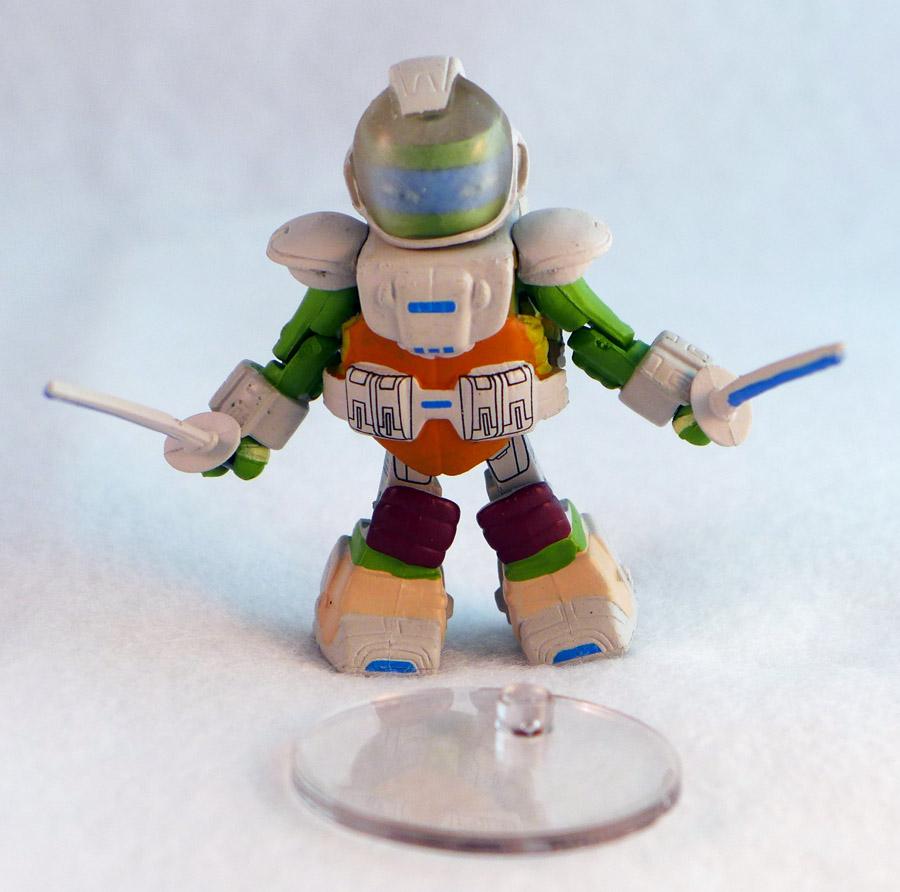 Space Leonardo TMNT Series 4 Minimate