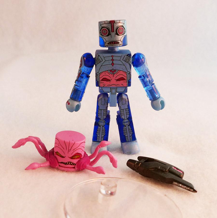 Exo-Armor Blue Kraang TMNT Series 4 Minimate