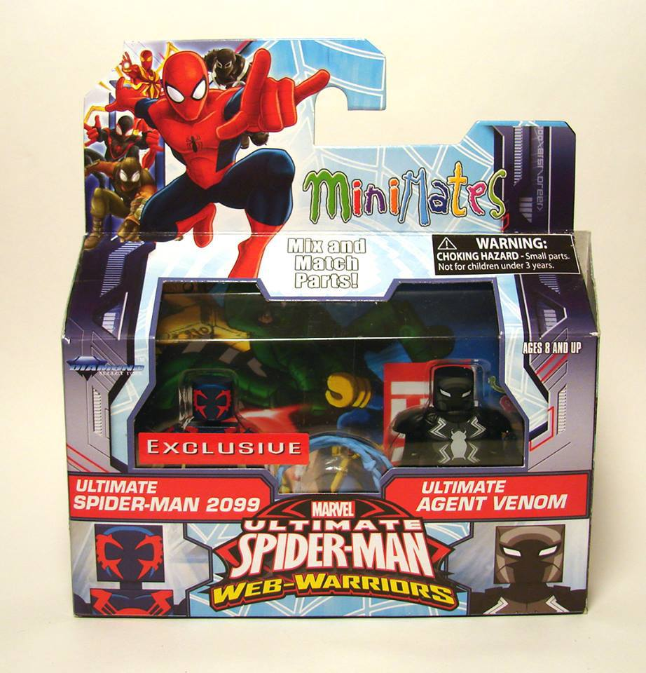 Agent Venom & Spider-Man 2099 Walgreens Exclusive Marvel Minimates