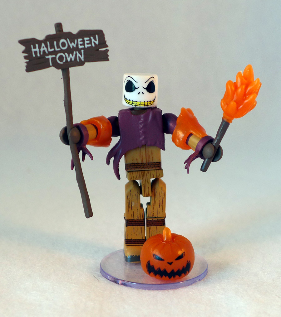 Glow in the Dark Pumpkin King Jack Skellington Minimate