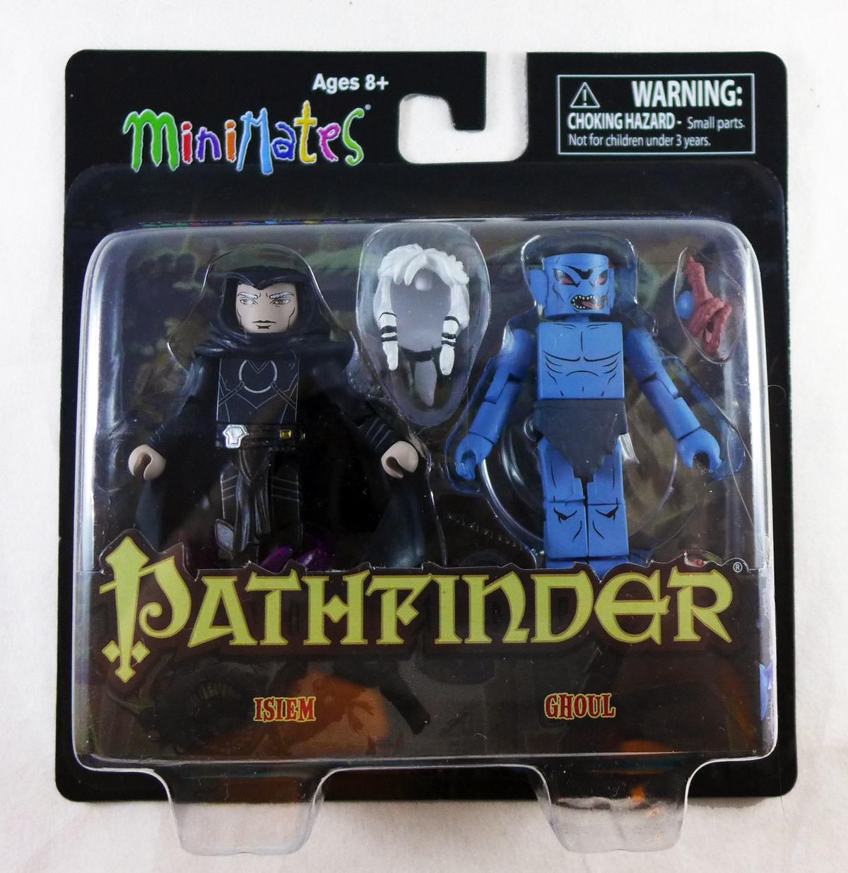 GenCon Exclusive Isiem & Ghoul Pathfinder Minimates