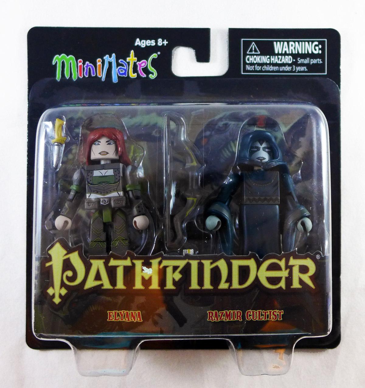 GenCon Exclusive Elyana & Razmir Cultist Pathfinder Minimates