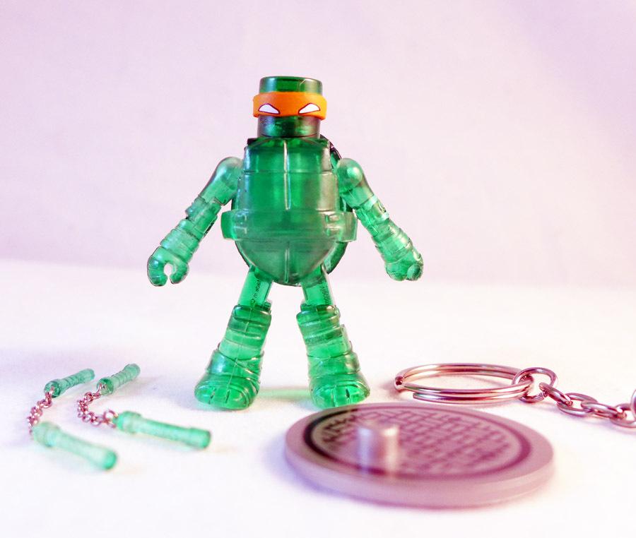 TMNT Mutagen Michelangelo K-Mart Exclusive Minimate