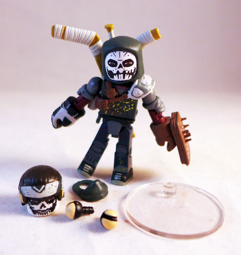 Casey Jones TMNT Series 2 Minimate
