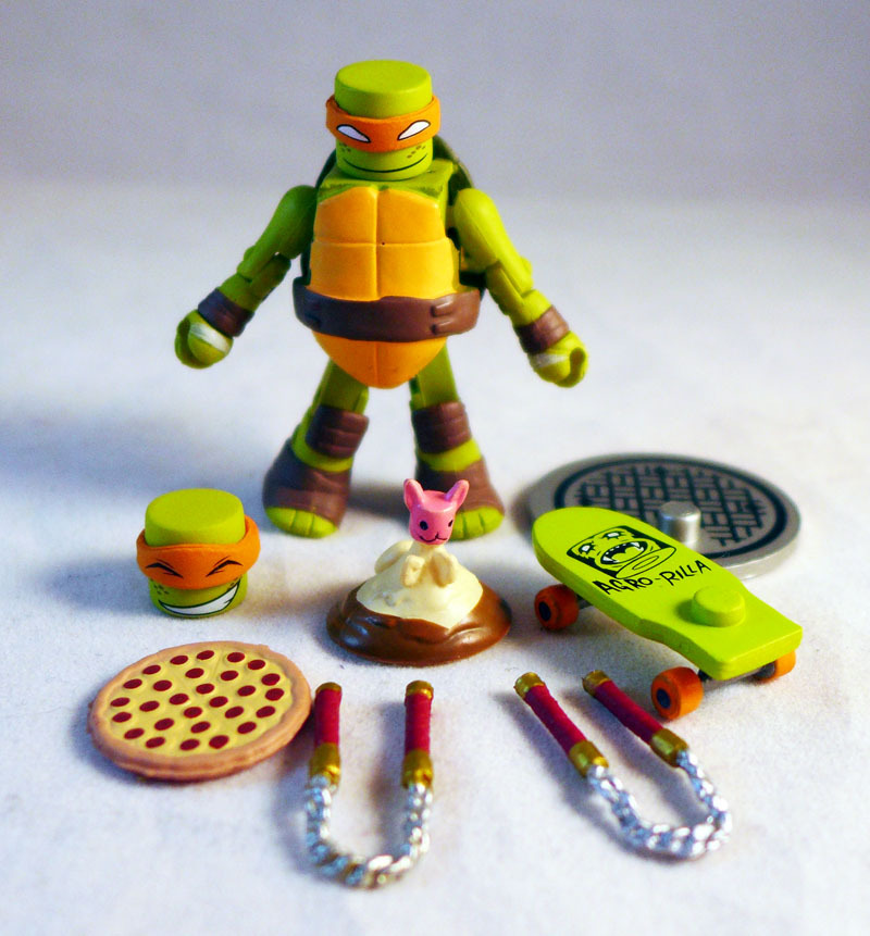 Michelangelo TMNT Series 2 Minimate